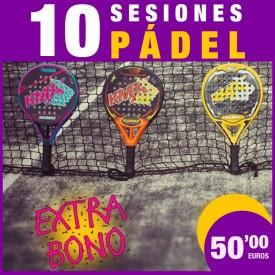 BONO PÁDEL 10 SESIONES