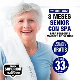 3 MESES SENIOR CON SPA