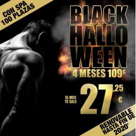 4 MESES BLACK HALLOWEEN