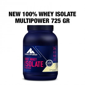 NEW 100% WHEY ISOLATE 725gr